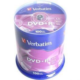 Verbatim DVD+R 16x, 100ks cakebox DVD+R