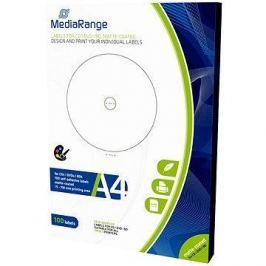 MediaRange CD/DVD/Blu-ray etikety 15mm - 118mm bílé