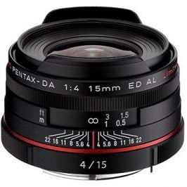 PENTAX HD DA 15mm f/4.0 ED AL Limited. Black