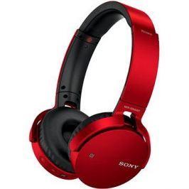Sony MDR-XB650BT červená