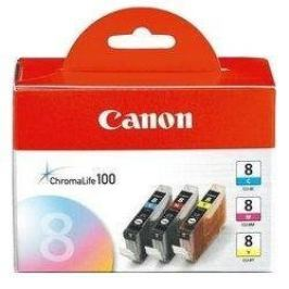 Canon CLI-8 C/M/Y Pack azurová, purpurová, žlutá