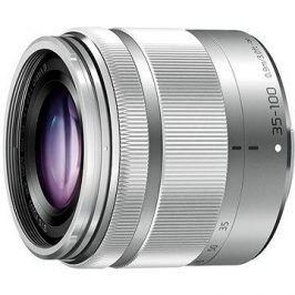 Panasonic Lumix 35-100 mm f/4.0-5.6 ASPH Mega OIS stříbrný