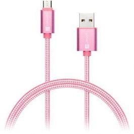 CONNECT IT Wirez Premium Metallic micro USB 1m rose