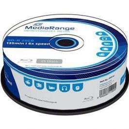 MediaRange BD-R (HTL) 25GB, 25ks cakebox