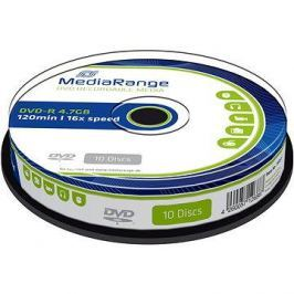 MediaRange DVD-R 4.7GB, 10ks