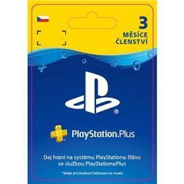 PlayStation Plus 3 měsíční členství  - CZ Digital