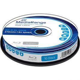MediaRange BD-R (HTL) 50GB Dual Layer10ks cakebox