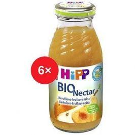 HiPP BIO Meruňkovo-hruškový nektar - 6× 200 ml