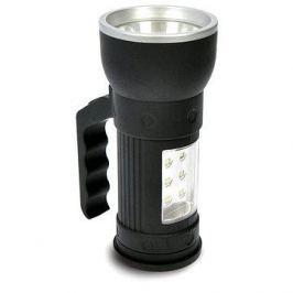 Solight LED svítilna 2v1 černá
