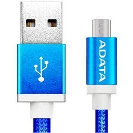 ADATA microUSB 1m modrý