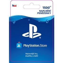 PlayStation Store - Kredit 1500 Kč - CZ Digital