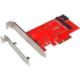 I-TEC PCI-E 2x M.2 Card (PCI-E/SATA)