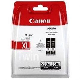 Canon PGI-550 XL BK TWIN blistr černá