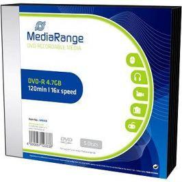 MediaRange DVD-R 5ks v SLIM krabičce
