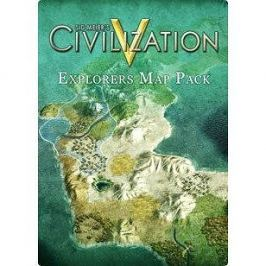 Sid Meier's Civilization V: Explorer's Map Pack (MAC) DIGITAL