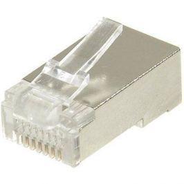 10-pack,Datacom, RJ45, CAT5E, STP, 8p8c, stíněný, neskládaný, na drát