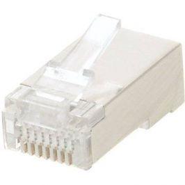 100-pack,Datacom, RJ45, CAT5E, STP, 8p8c, stíněný, neskládaný, na licnu (lanko)