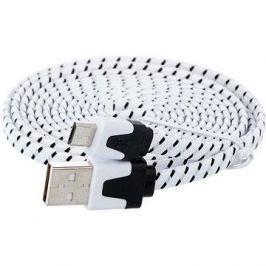 PremiumCord USB 2.0 propojovací A-B micro 1.8m černý