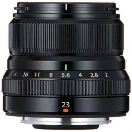 Fujifilm Fujinon XF 23mm f/2.0 R WR černý