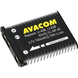 AVACOM za Olympus Li-40B, Li-42B Li-ion 3.7V 740mAh 2.7Wh AVA