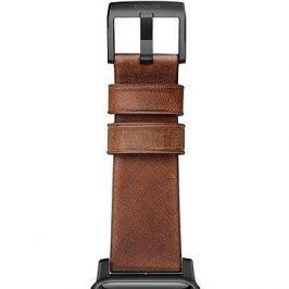 Nomad Horween Leather Strap Modern Black