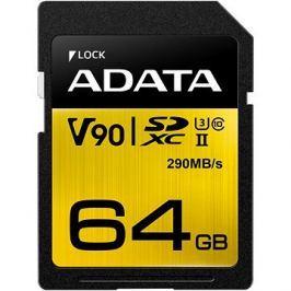 ADATA Premier ONE SDXC 64GB UHS-II U3 Class 10