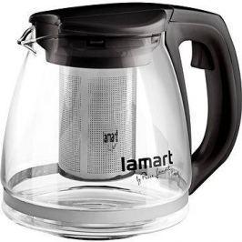 Lamart Konvice 1.1l černá Verre LT7025