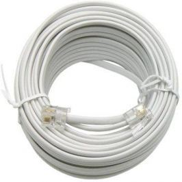 OEM telefonní s konektory RJ11, 15m Telefonní kabely