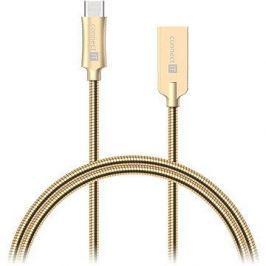 CONNECT IT Wirez Steel Knight USB-C 1m, metallic gold