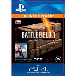 Battlefield 1 Battlepacks x 3 - PS4 CZ Digital