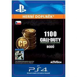 1,100 Call of Duty: Modern Warfare Remastered Points - PS4 CZ Digital