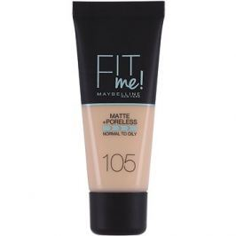 MAYBELLINE NEW YORK Fit Me Matte & Poreless Make Up 105 Natural Ivory 30 ml