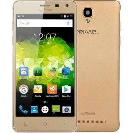 MyPhone Prime Plus zlatý