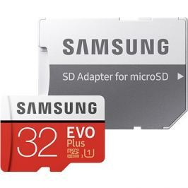 Samsung MicroSDHC 32GB EVO Plus UHS-I U1 + SD adaptér
