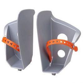 Náhradní stupačky sedačky Polisport Bilby, stříbrná
