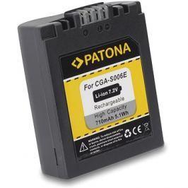PATONA pro Panasonic CGA-S006E 710mAh Li-Ion