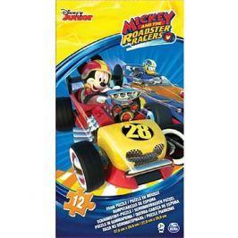 Pěnové puzzle Mickey a závodníci