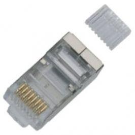 100-pack, Datacom, RJ45, CAT6, STP, 8p8c, stíněný, na drát