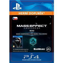 500 Mass Effect: Andromeda Points - PS4 CZ Digital