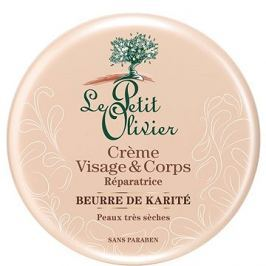 LE PETIT OLIVIER Ultra hydratační tělový a pleťový krém s bambuckým máslem 125 ml