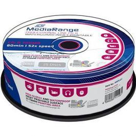 MediaRange CD-R Waterguard 25ks cakebox