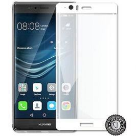 Screenshield Huawei P9 Plus VIE-L09 Tempered Glass protection (full COVER WHITE metalic frame)