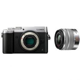Panasonic LUMIX DMC-GX8 stříbrný+ objektiv 14-42mm/F3.5-5.6 ASPH