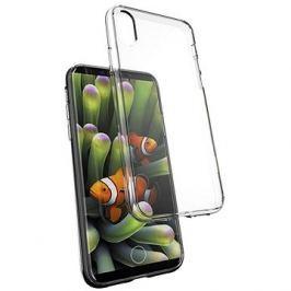 Epico Twiggy Gloss pro iPhone X, černý transparentní