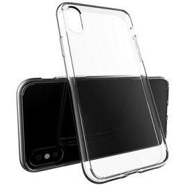 Epico Twiggy Gloss pro iPhone X, bílý transparentní