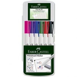 Faber-Castell Slim Whiteboard Marker, 6 ks