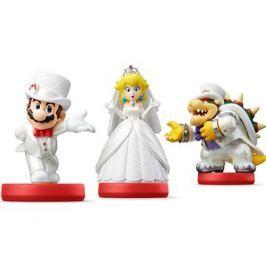 Amiibo Super Mario - svatební set (3)