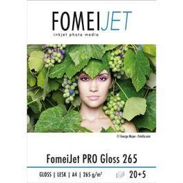 FOMEI Jet PRO Gloss 265 A4 - balení 20ks + 5ks zdarma