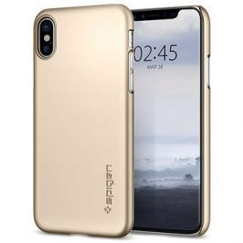 Spigen Thin Fit Gold iPhone X