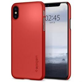 Spigen Thin Fit Metallic Red iPhone X